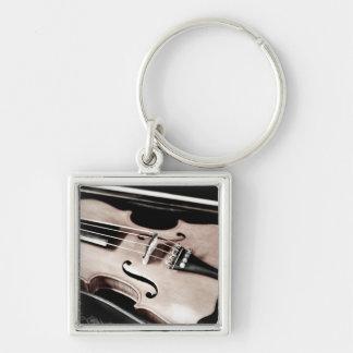 Violin in Case Keychain