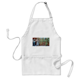 violin in the park adult apron