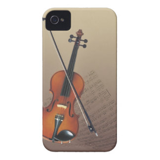 Violín iPhone 4 Case-Mate Protector