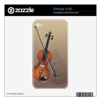 Violin iPhone 4 Skin