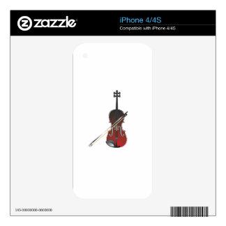 violin iPhone 4S decals