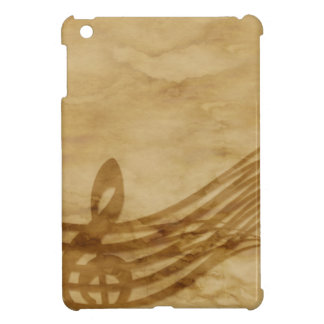 Violin key iPad mini cases