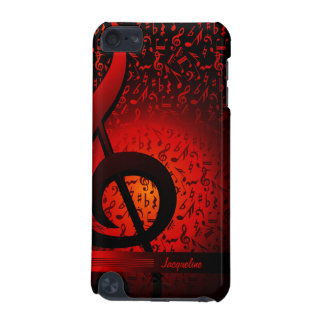 Violin Key Music G-Clef Note iPod Touch 5 Case