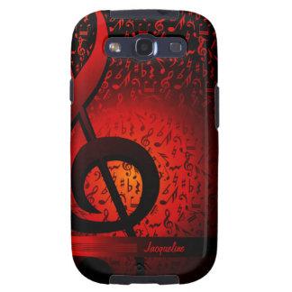 Violin Key Music G-Clef Note Samsung Galaxy S3 Galaxy S3 Cases