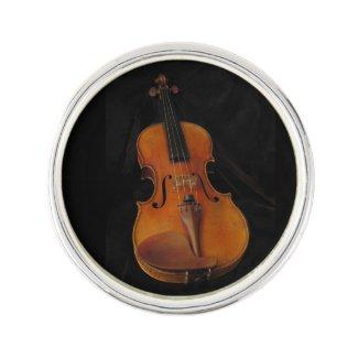 Violin Lapel Pin