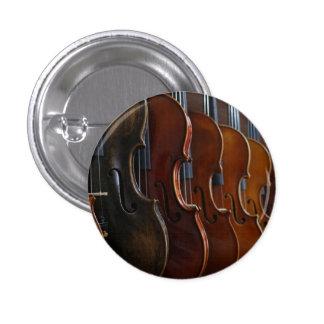 Violin Lineup 1 Inch Round Button