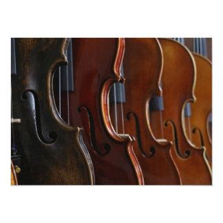 Violin Lineup Card
