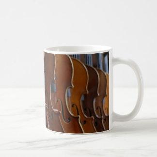 Violin Lineup Coffee Mug