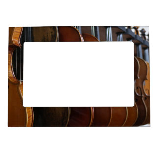 Violin Lineup Magnetic Picture Frame