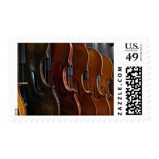 Violin Lineup Stamp