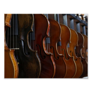 Violin Lineup Posters