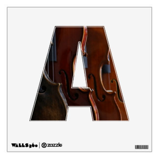 Violin Lineup Wall Skins