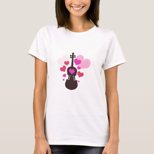 Violin Love T-Shirt
