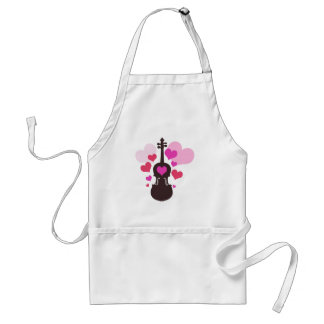 Violin Lover Adult Apron