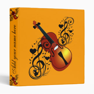 Violin,Lover at Heart_ Binder