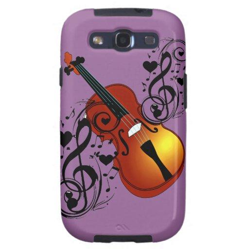 Violin,Lover at Heart_ Galaxy S3 Case