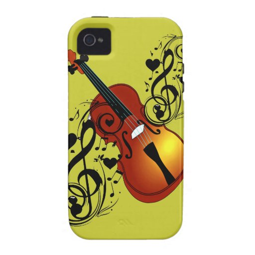 Violin,Lover at Heart_ iPhone 4/4S Cases
