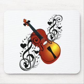 Violin,Lover at Heart_ Mouse Pad