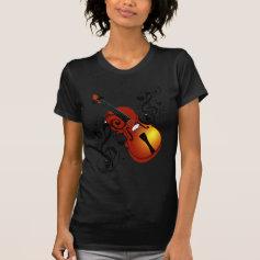 Violin,Lover at Heart_ Shirts