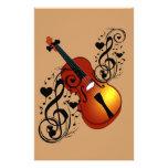 Violin,Lover at Heart_ Stationery