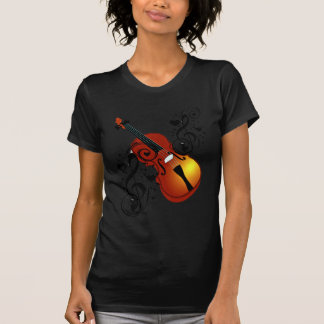 Violin,Lover at Heart_ T Shirt