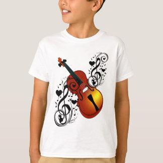 Violin,Lover at Heart_ T-Shirt