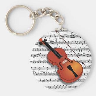 Violin Lover_ Keychain
