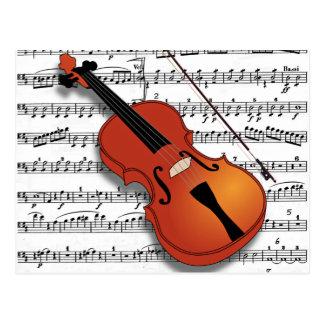 Violin Lover_ Postcard