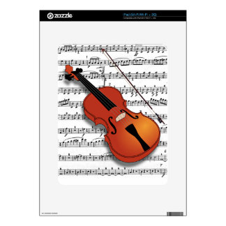 Violin Lover_ Decals For The iPad