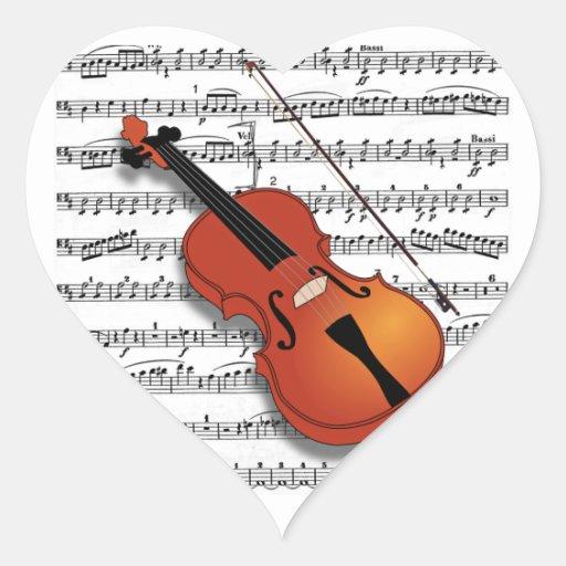 Violin Lover_ Sticker