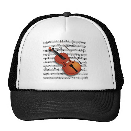 Violin Lover Trucker Hat