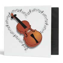 Violin Music Binder