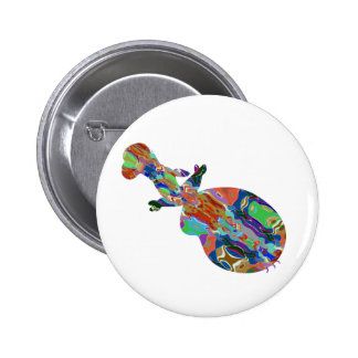 VIOLIN Music Insrument Abstract Colorful Art fun 2 Inch Round Button