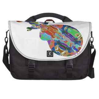 VIOLIN Music Insrument Abstract Colorful Art fun Laptop Bags