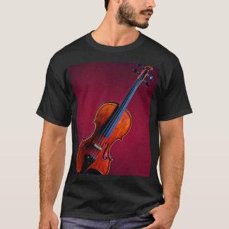 Violín o camiseta de la imagen de la viola