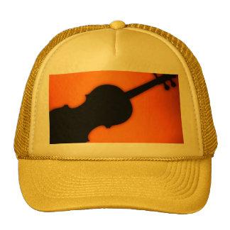 Violín o casquillo o gorra de golf de la viola