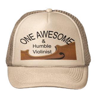 Violín o casquillo o gorra impresionante de golf d