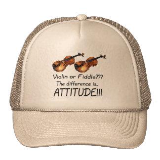 ¿Violín o violín??? Gorras