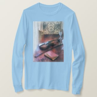 Violin on Credenza T-Shirt