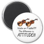 Violin or Fiddle??? Fridge Magnets