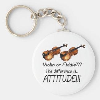 Violin or Fiddle??? Keychain