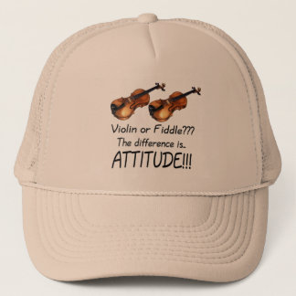 Violin or Fiddle??? Trucker Hat