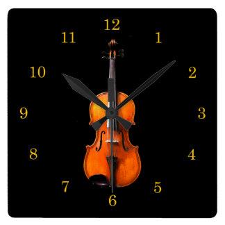 Violin or Viola Clock