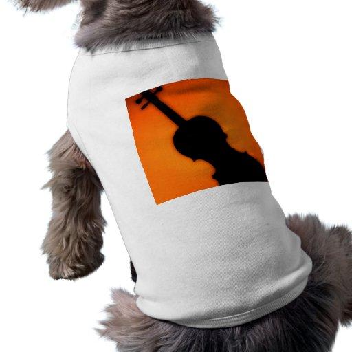 Violin or Viola Dog or Cat Pet Clothing