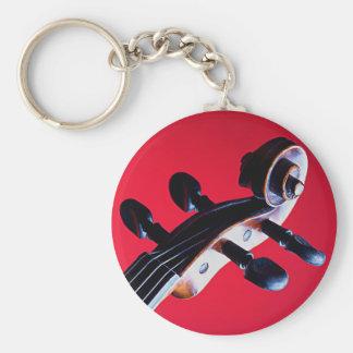 Violin or Viola Keychain or Key Chain
