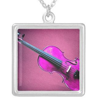 Violin or Viola Picture Necklace
