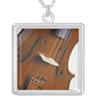 Violin or Viola Picture on Necklace