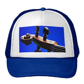 Violin or Viola Trucker or Golf Cap or Hat