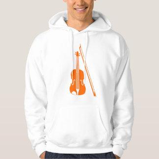 Violin - Orange Hoodie