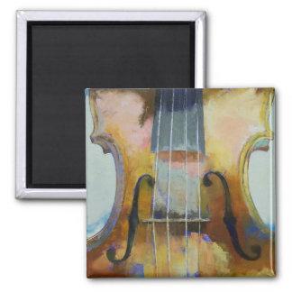 Violin Painting Magnet Fridge Magnets